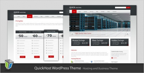 Quick Host - Business and Hosting Theme