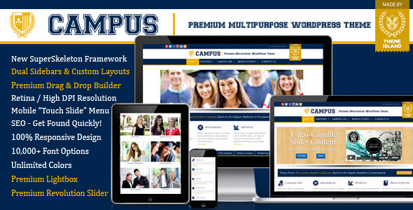 Campus - Premium Multipurpose WordPress Theme