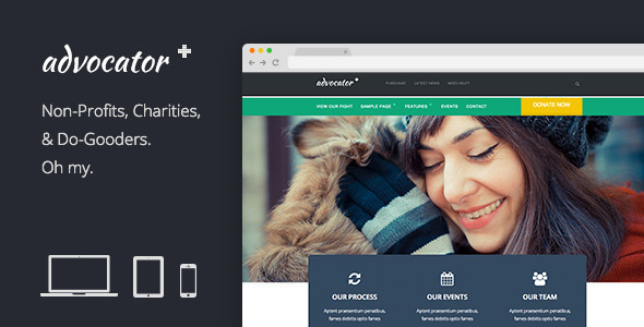 Advocator - Professional Nonprofit Organizations Theme