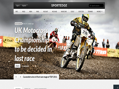 15 Highly Demanded Sports WordPress Themes