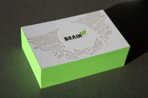 BrainUp Business Cards