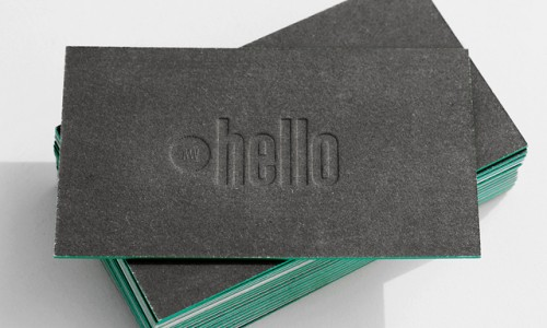 30 magnificent edge painted business cards webdesignlayer cool letterpress business cards colourmoves