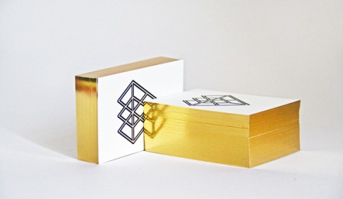 Golden Edge Painting Business Cards