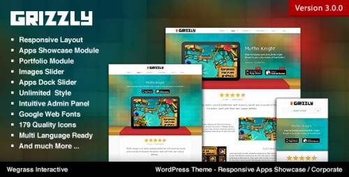 Grizzly - Responsive App Corporate