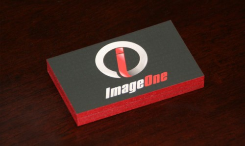 Image One Business Card