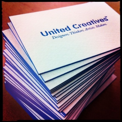 United Creatives Business Cards
