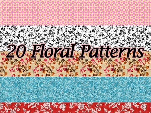 20 Elegant Floral Patterns