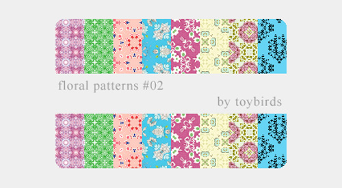 28 Floral Patterns for Photoshop