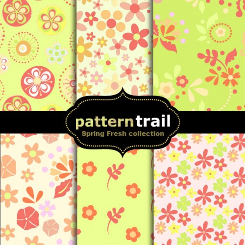 6 Spring Fresh Floral Patterns
