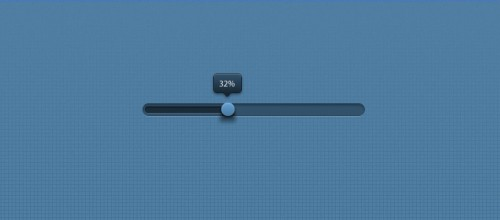 Blue Progress Bar PSD