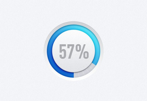 Circle Progress Bar PSD