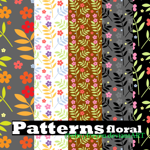 Free Floral Patterns for Photoshop