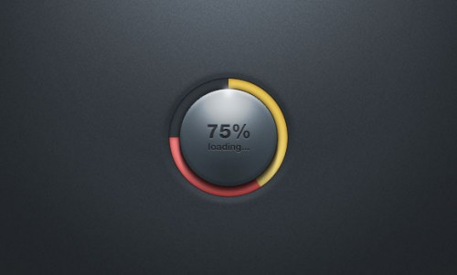 Loading Bar PSD