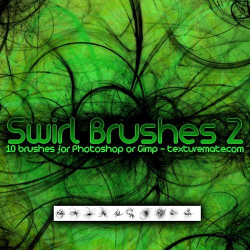 10 Swirl Brushes for Free