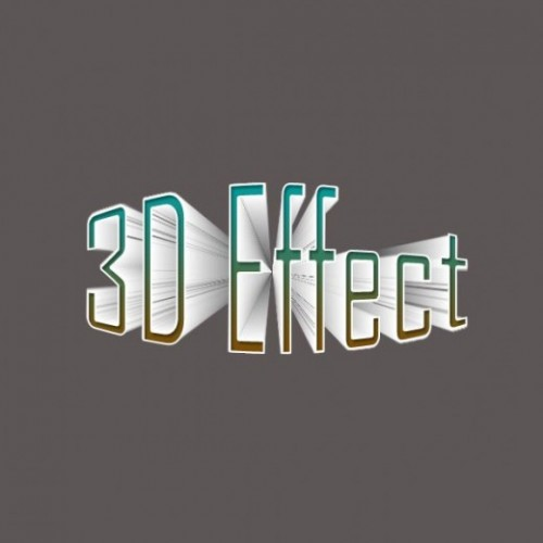 3D Text Effect Tutorial Using Photoshop