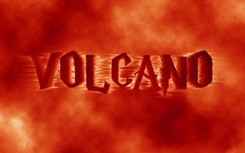 Create a 3D Volcano Text Effect