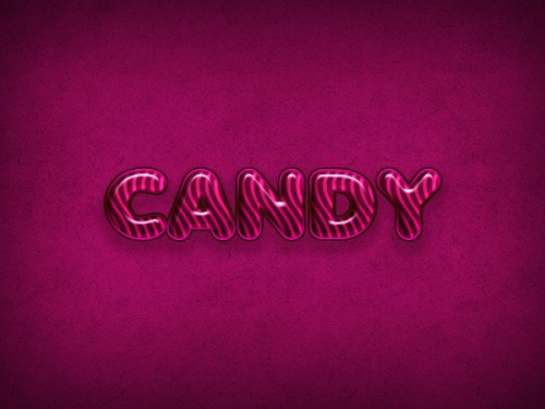 Create a Candy Flavored Text Effect