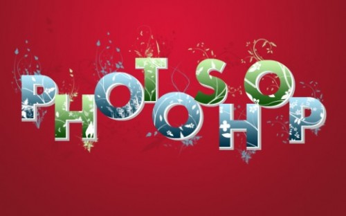 Spectacular 3D Flowery Text Effect