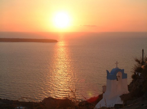 Greece - Santorini , Oia Sunset