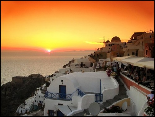 Greece - Santorini Sunset
