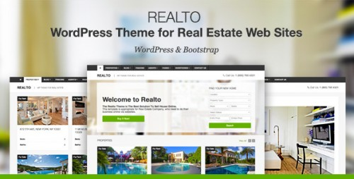 Realto - WP Theme for Real Estate Companies