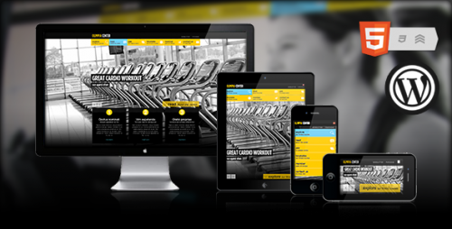 Olimpia - Fullscreen WordPress Fitness Center Theme