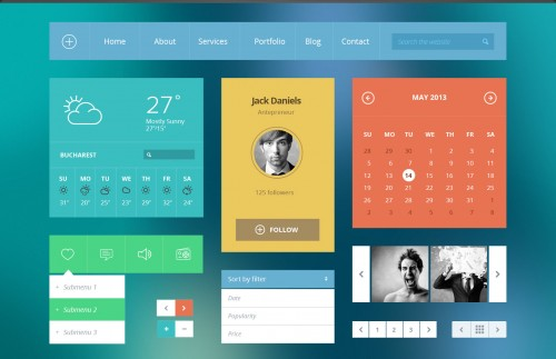 Modern Touch UI Kit