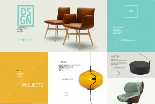 DSGN - Free PSD Template