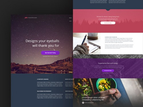 Pex - Free Website Template
