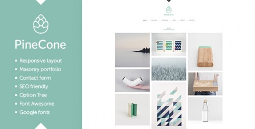 PineCone - Portfolio and Blog for Agency