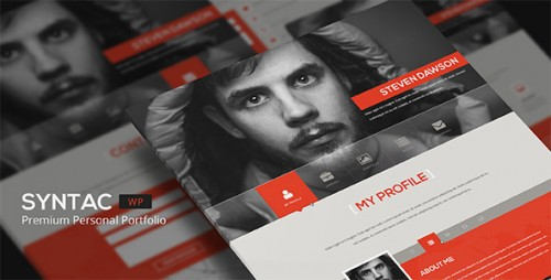 Syntac  - WordPress Premium Personal Portfolio Theme