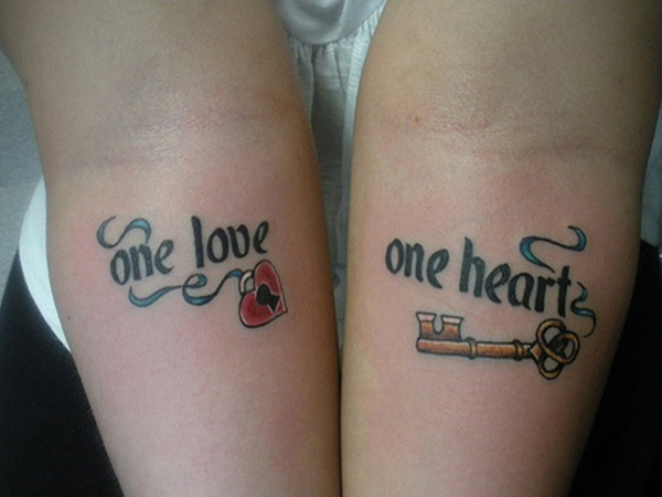 Beautiful Couple Tattoo