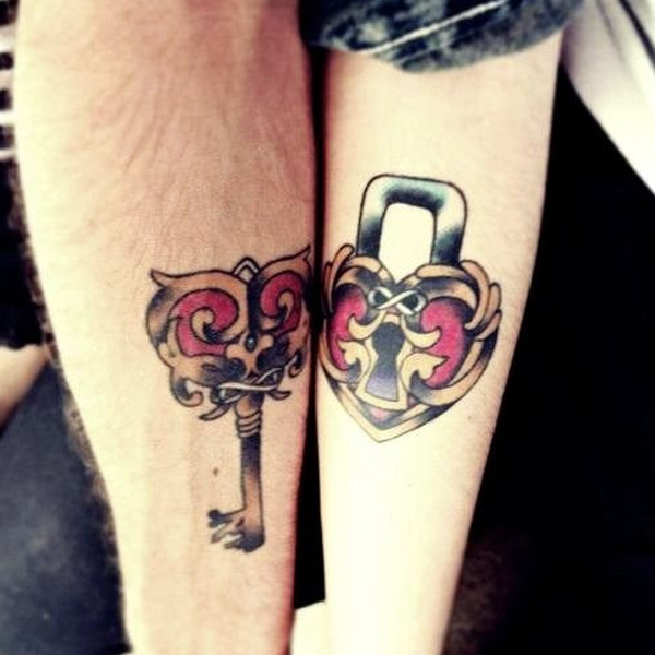 Cute Couple Tattoo